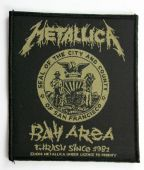 Metallica - 'Bay Area Thrash' Woven Patch